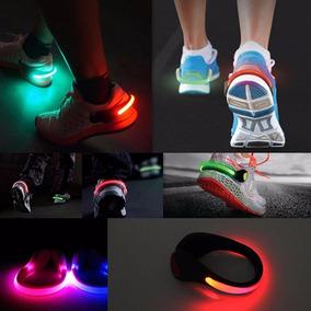 Luz Led P/ Zapatillas Niños Mujer Y Hombre C/ Juego De Luces