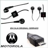 Auricular Manos Libres Motorola Micro Usb V8 Otros Viejos