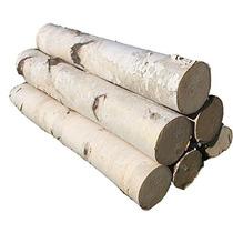 White Birch Juego De Leños Para La Chimenea