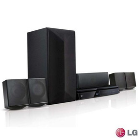 Home Theater Lg Blu-ray 3d 5.1 Canais E 1000 Watts Lhb625m
