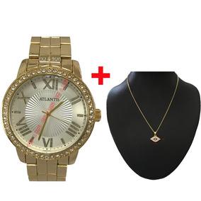 f75a91f79e9 Colar Infinito Com Diamante Em - Relógios De Pulso no Mercado Livre ...