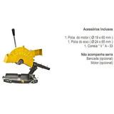 Serra Corte Alumínio Policorte Fa-2 C/ Bancada S/ Motor