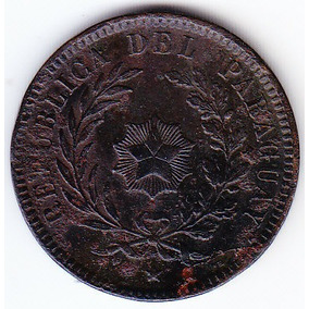 Paraguay 2 Céntimos 1870.