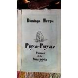 Domingo Zerpa - Puya Puyas. Poemas De La Puna Jujeña