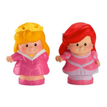 Ariel Y Aurora Little People Princesas Disney Fisher Price