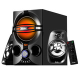 Parlantes 2.1 Bluetooth Home Theatre Gamer Usb Fm Aux Loi