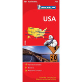 Mapa Michelin Estados Unidos Usa Rutero
