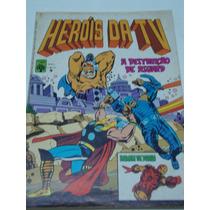 Heróis Da Tv Nº 9 De 1980 Abril Gibi Raro Antigo Quase Novo