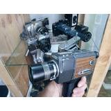 Filmadora Antiga Super 8 Para Restauro Ou Decoração, C/ Fita