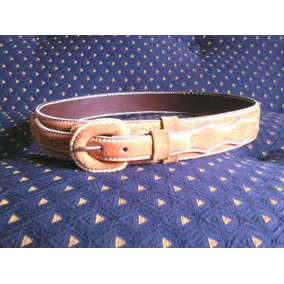 Cinturon De Huaso Descarne Talla 48