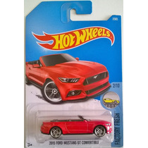Hot Wheels Ford Mustang Gt Convertible 7/365 Envio Gratis