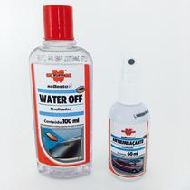 Cristalizador De Para Brisa Water Off Repelente Água Viseira