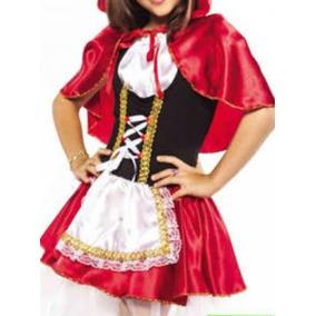 Fantasia Infantil Chapeuzinho Vermelho Luxo