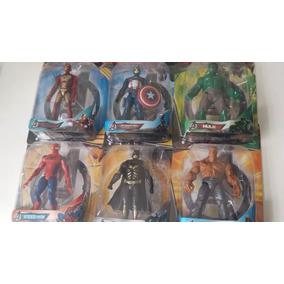 Bonecos Marvel 15 Cm Articulados Com Luz