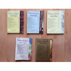 Lote 5 Revistas Antigua Selecciones Readers Digest 1960