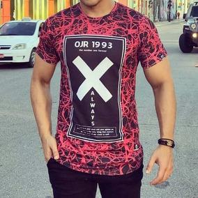 Camisa Longline Camiseta Oversized Swag Masculina Blusa