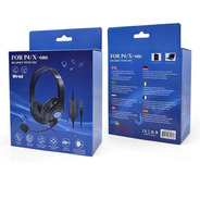 Fone Headset Gamer Com Microfone P4 / X - One