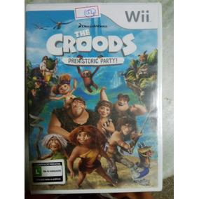 Nintendo Wii The Croods Original Americano Lacrado Lote154