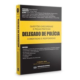 Livro Discursivas E Peças Práticas De Delegado De Polícia