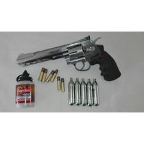Pistola Sr357 Co2 Crosman 4.5 Full Metal