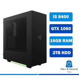 Cpu Pc Vr Gamer I5 8400 8va Generación 16gb Gtx 1060 Razer