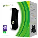 Xbox 360 320gb Slim+ 2 Controles+ Carga Y Juega+ 101 Juegos