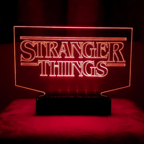 Luminária Stranger Things Abajur Led Maravilhoso