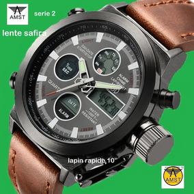 Novo Relógio Masculino Amst 3003 -serie 2- 100 % Original