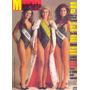 Manchete Nº 1826 - 18.04.87 - Miss Brasil 87 / Nara Leão /