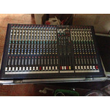 Consola Soundcraft Spirit Lx7ii 24 + Anvil