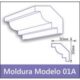 Moldura Isopor Eps Sanca Modelo 01a 1 Metro Promoção