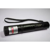 Potente Señalador Laser Recargable En Color Rojo- Nuevo