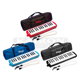 Melodica Stagg 32 Teclas Blue / Red