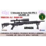 Carabina Pcp, Marca Crosman, Modelo Armada, Calibre .25