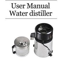 Olizee Acero Inoxidable 304 Destilador De Agua Purificador