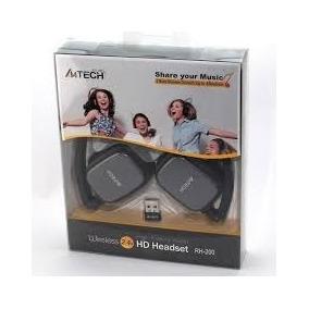 Auricular Headset A4-tech Inalambrico - Bateria Recargable!!