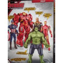 Marvel Avengers Hulk E Iron Man Las 2 Figuras Interactuan