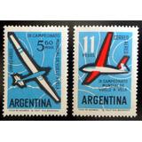 Argentina Aviones, Serie Aérea Gj 1245-6 Vela 63 Mint L9235
