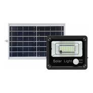 Reflector Led Control Remoto Sensor Panel Solar 50w