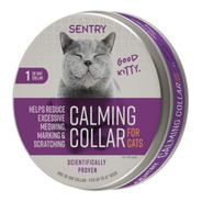 Coleira Calmante Sentry Para Gatos
