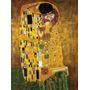 El Beso Klimt Canvas Bastidor De 80x50 Cm Exelente Calidad