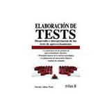 Elaboracion De Tests; Adkins Envío Gratis