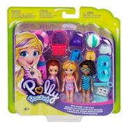 Conjunto De Bonecas Polly Bonecas Aventura - Gfr09 Mattel