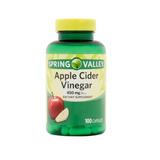 Vinagre De Cidra De Manzana 450 Mg 100 Tabletas, Apple Cider
