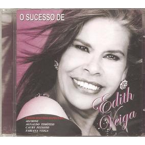 Cd Edith Veiga - O Sucesso -part Cauby Peixoto Fabiana Veiga