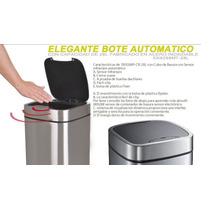 Bote Basura Con Sensor Automatico Incluye Envio