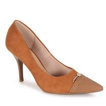 Sapato Scarpin Conforto Feminino Beira Rio - Caramelo