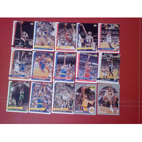 Tarjetas Basketball Nba 1990 A 1994 Upper Deck Envio Gratis!