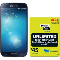 Straight Talk Samsung Galaxy S4 4g Lte Android Smartphone Re