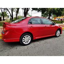 Br 809 Vende Carro Corolla 2010 Rojo $ 615 Oportunidad